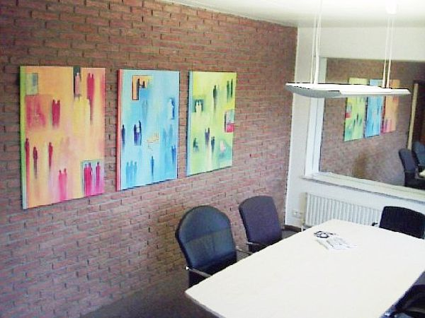Auftragsmalerei für Agentur78 Hamburg