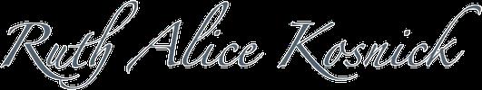 Ruth Alice Kosnick Logo