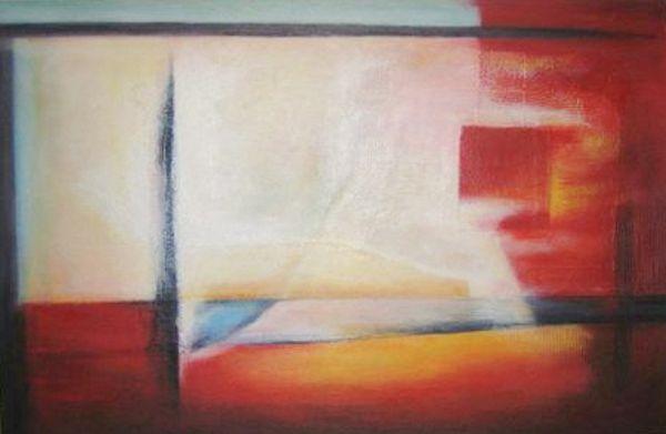 Auftragsmalerei für Privat, Motiv: Rotes3