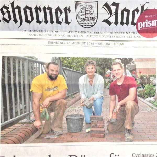 Artikel Elmshorner Nachrichten 20. August 2019