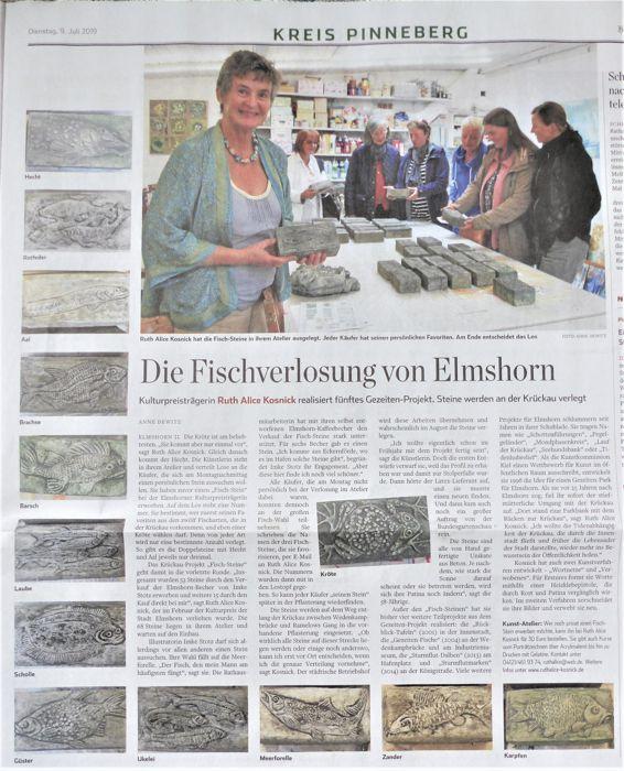Artikel Hamburger Abendblatt Kreis Pinneberg