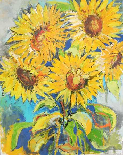 Sonnenblumen_80x100_2020